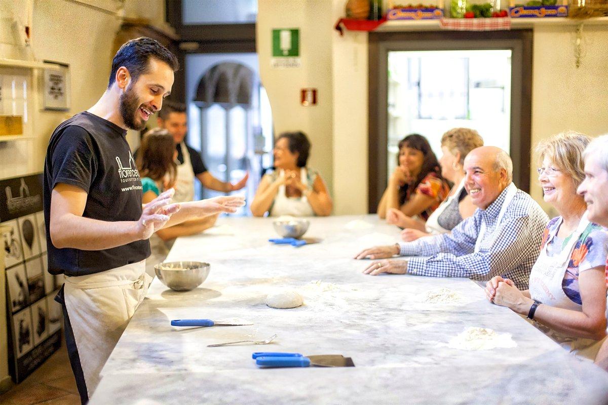 Corso di cucina pizza e gelato a Firenze (Inglese) ❒ Italy Tickets