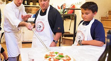 Pizza and ice cream cooking class in Tuscany ❒ Italy Tickets