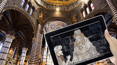 Siena pass with tablet :: visit the town with a multimedia guide