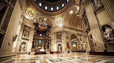 St. Peter's Basilica Guided Tour ❒ Italy Tickets